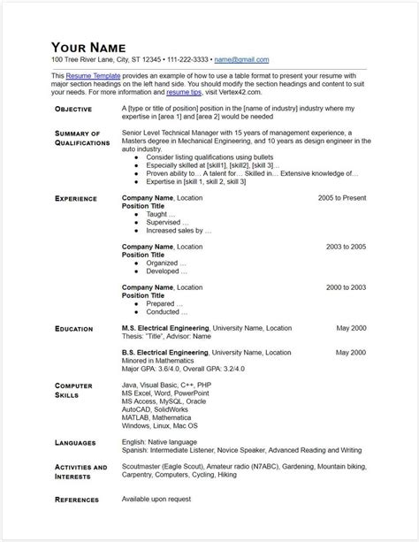 30 docs resume templates downloadable pdfs