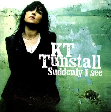 KT Tunstall - Suddenly I See (CD) at Discogs