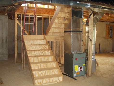 Pictures Of L Shaped Basement Stairs  Build Stairs To