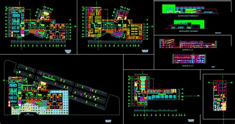 shopping center lima dwg block  autocad designs cad