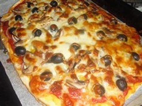 recette de pate a pizza recette des pizzas maison sans robot