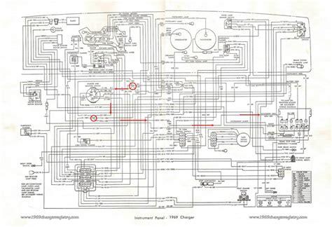 1969 Dodge Dart Wiring Diagram by 1970 Dodge Challenger Wiring Diagram Circuit Diagram Maker