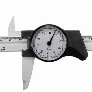 6inch 150mm Scale Dial Vernier Caliper Metric Measurement Standard Inch Mm