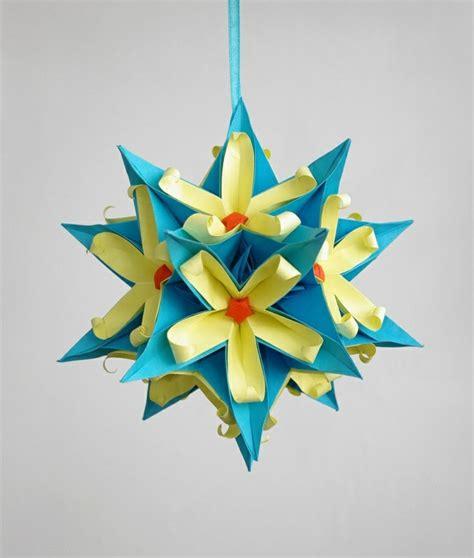 decoration de noel en papier d 233 coration de no 235 l en papier origami ou kirigami