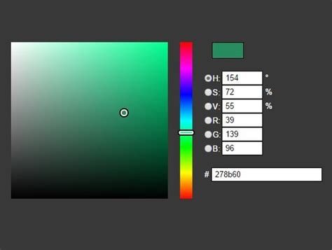 simple hsv rgb color picker plugin for jquery jcolor