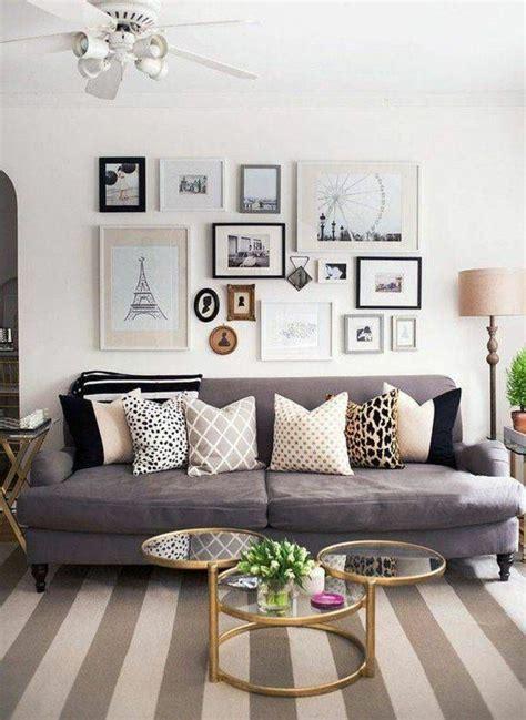 canapé de charme déco salon gris 88 idées pleines de charme