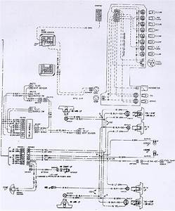 1974 Camaro Gauge Cluster  U0026 Tail Light Wiring Schematic