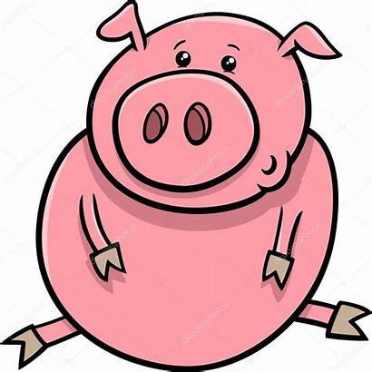 Cartoon Pig Piglet Schwein Ferkel Farm Animal