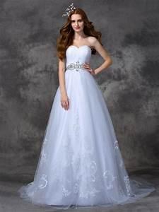 a line princess sweetheart beading sleeveless long satin With hebeos wedding dresses