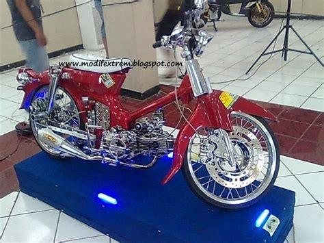 Modifikasi Motor Tua by Modifikasi Motor Classic Tua C70 Chrome Bike