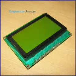 Graphical LCD | 128x64 Graphics LCD | GLCD Datasheet & PinOut