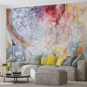 Abstract Bedroom Murals