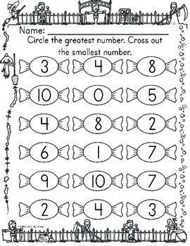 comparing numbers   worksheets  catherine  tpt