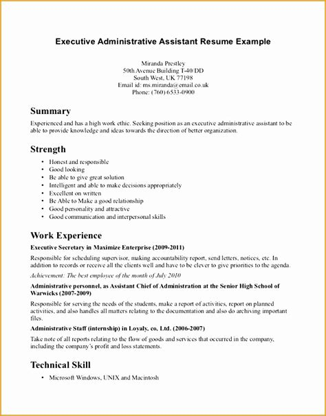 9 receptionist resume objective sle free sles