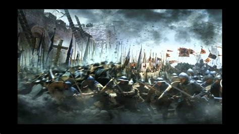 kingdom  heaven wall breached youtube