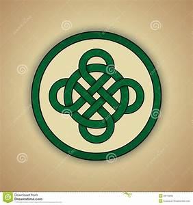 Symboles De Protection Celtique : symbole celtique de noeud de la chance illustration de vecteur illustration du graphisme ~ Dode.kayakingforconservation.com Idées de Décoration