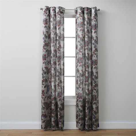 Kmart Curtains Smith by Smith Jacquard Grommet Panel Katherine Print