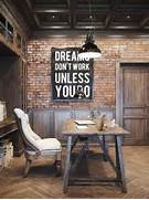 Home Decor Ideas With Typography My Warehouse Home White Vintage Style Home Office Home Office Decorating Ideal Home Home Office Design With Vintage Style With Picturesque Decoration Home Decorating Trends Homedit