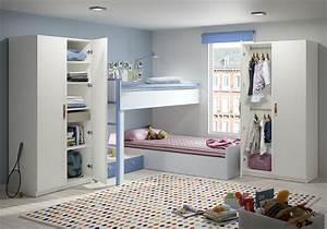 Rangement Chambre Enfants : armoire de chambre sur mesure un rangement harmonieux ~ Melissatoandfro.com Idées de Décoration