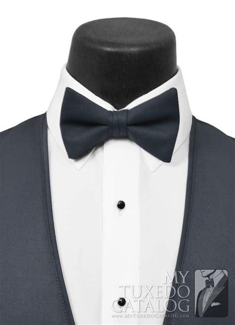 slate blue allure men bow tie ties mytuxedocatalogcom