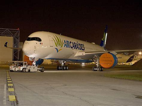 si e air caraibes air caraïbes airbus a350 et promotion timbrée photos