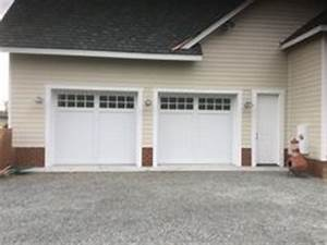 18x8 model 5331a double steel insulated carriage style With 9x8 insulated garage door