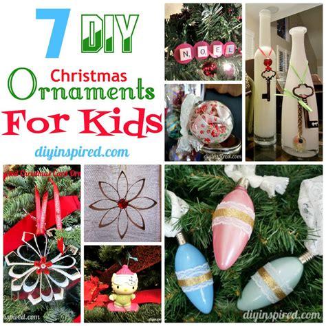 christmas decorations diy kids