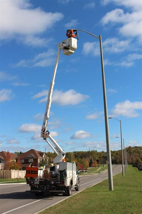 led street lights  cost   oshawa express