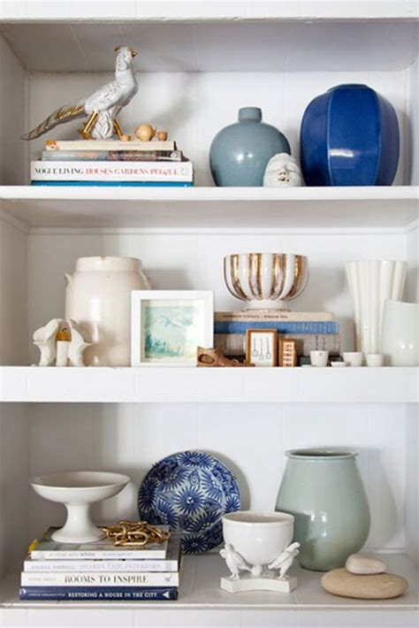 Decorating Bookshelves Without Books by Decorating Bookshelves 12 Helpful Tips Ideas