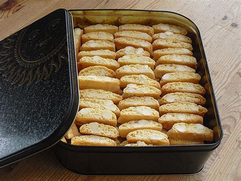 Italienische Kekse Cantuccini Rezepte Chefkochde