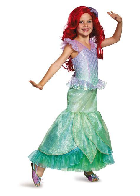 girls ariel ultra costume disney costumes