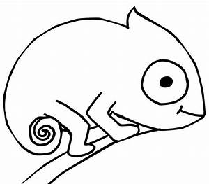 eric carle chameleon crafts template sketch coloring page With eric carle chameleon template