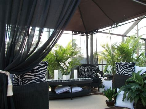decorations outdoor patio drapes curtains ideas outdoor