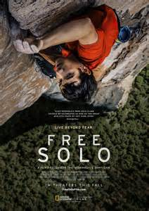 Free Solo Movie Poster (#1 of 2) - IMP Awards