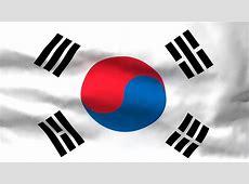 Waving Flag of South Korea VIDEO EZMEDIART IT'S EASY!