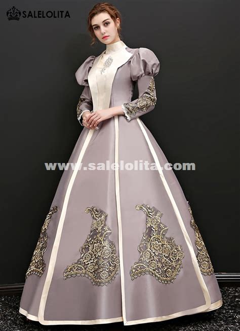 snow white princess party puff sleeve dress victorian