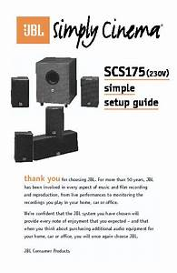 Jbl Scs 175 Sub  Serv Man5  User Guide    Operation Manual