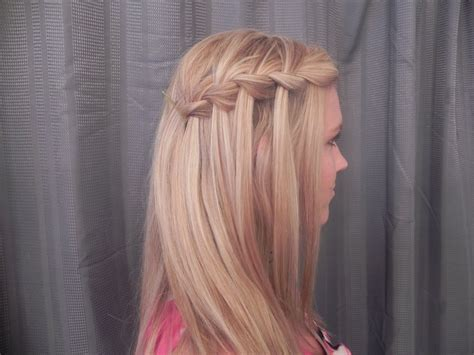 braid for long straight hair hairstyles pinterest