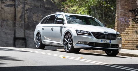 skoda superb sportline tsi review caradvice