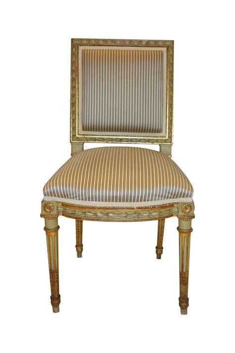 antique louis xvi style side chairs a pair chairish