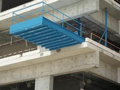 Platform Crane Factory Loading Dhabi Abu Uae