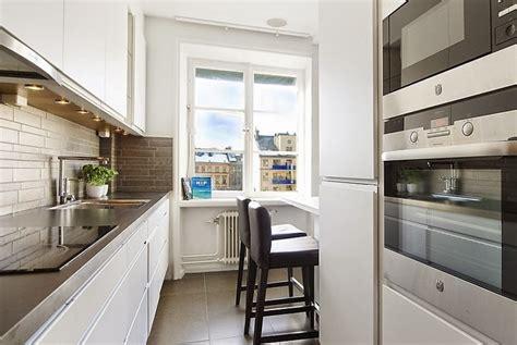 smart ideas  narrow kitchens rl