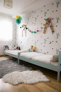 Kinderzimmer Für Zwei : kinderzimmer gestalten tolles kinderzimmer f r zwei m dchen schlafzimmer bedroom ~ Frokenaadalensverden.com Haus und Dekorationen