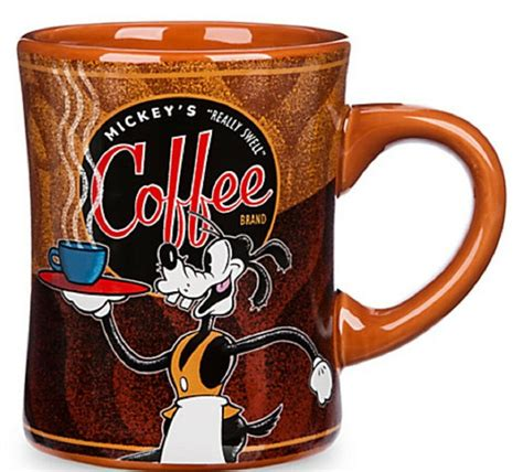 The brand was introduced years ago and features a variety of flavored roasts you can brew at home. Disney Goofy Mickey's Really Swell Coffee Mug Cup Theme Parks Brown | eBay