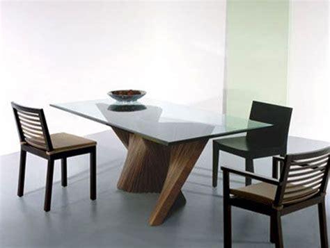contemporary glass dining room table design irooniecom
