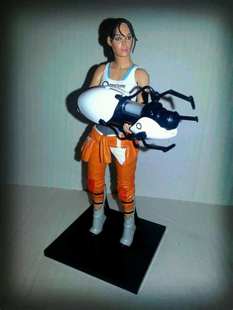 Action Figure Barbecue Action Figure Review Chell From
