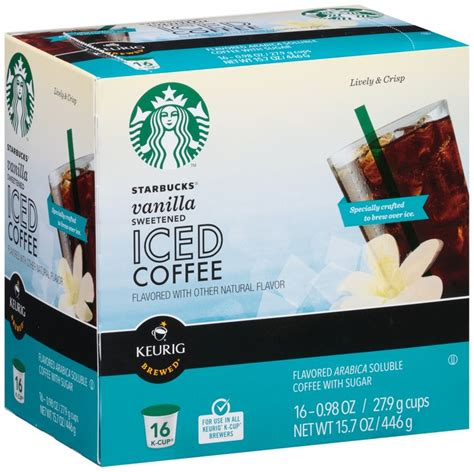 When it comes to an iced latte the recipe is a bit different. Starbucks® Sweetened Vanilla Iced Coffee K-Cup® 16 ct Box Reviews 2020