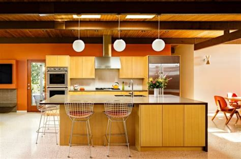 mid century modern kitchen island mid century modern kitchen is the best option for your 9166