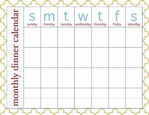 meal calendar template new calendar template site With monthly dinner calendar template