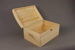 X LARGE TREASURE CHEST PLAIN WOODEN BOX DECOUPAGE CRAFT eBay
